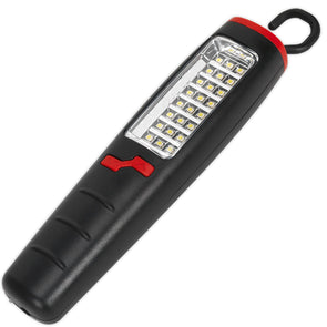 Sealey 24 SMD + 7 LED Cordless Lithium-Ion Rechargable Inspection Lamp