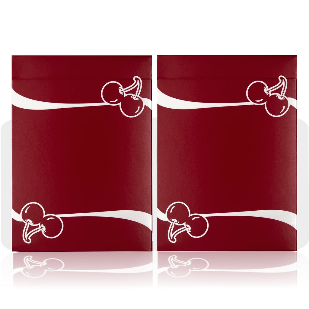 Cherry Casino Playing Cards Reno Red Edition 2-Deck Collectors Set