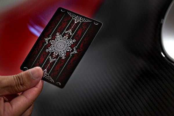 Buyworthy:ARTIFICE Red Playing Cards Very Rare 1st Edition Deck Ellusionist Brand New