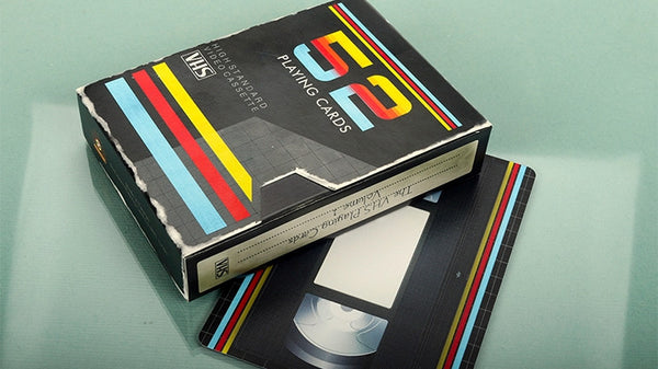 Buyworthy:VHS Playing Cards Video Cassette Case High Standard Poker Magic Deck Brand New