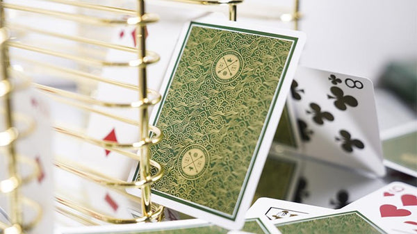 Visa Green Playing Cards by Patrick Kun and Alex Pandrea