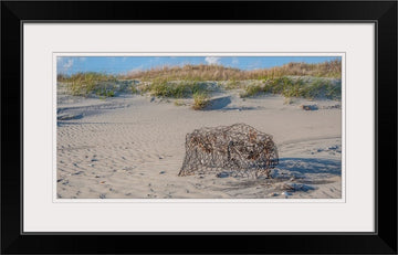 Ocracoke Crab Pot - Mission Art OBX
