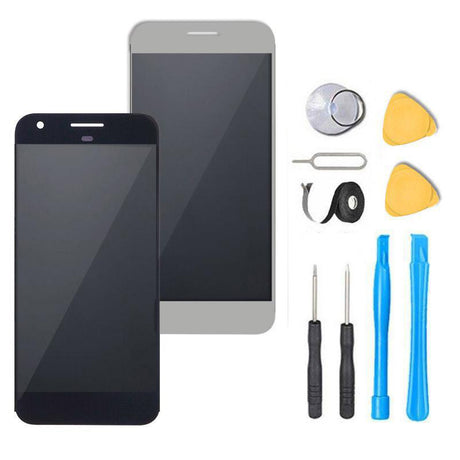 Google Pixel XL Screen Replacement LCD and Digitizer Premium Repair Kit  - Black or White