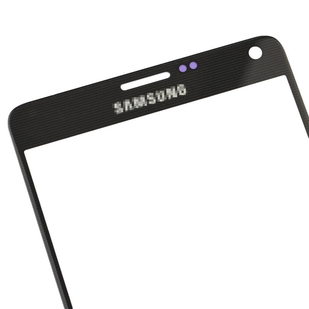 Samsung Galaxy Note 4 Glass Screen Replacement Premium Repair Kit N910 - Black - PhoneRemedies