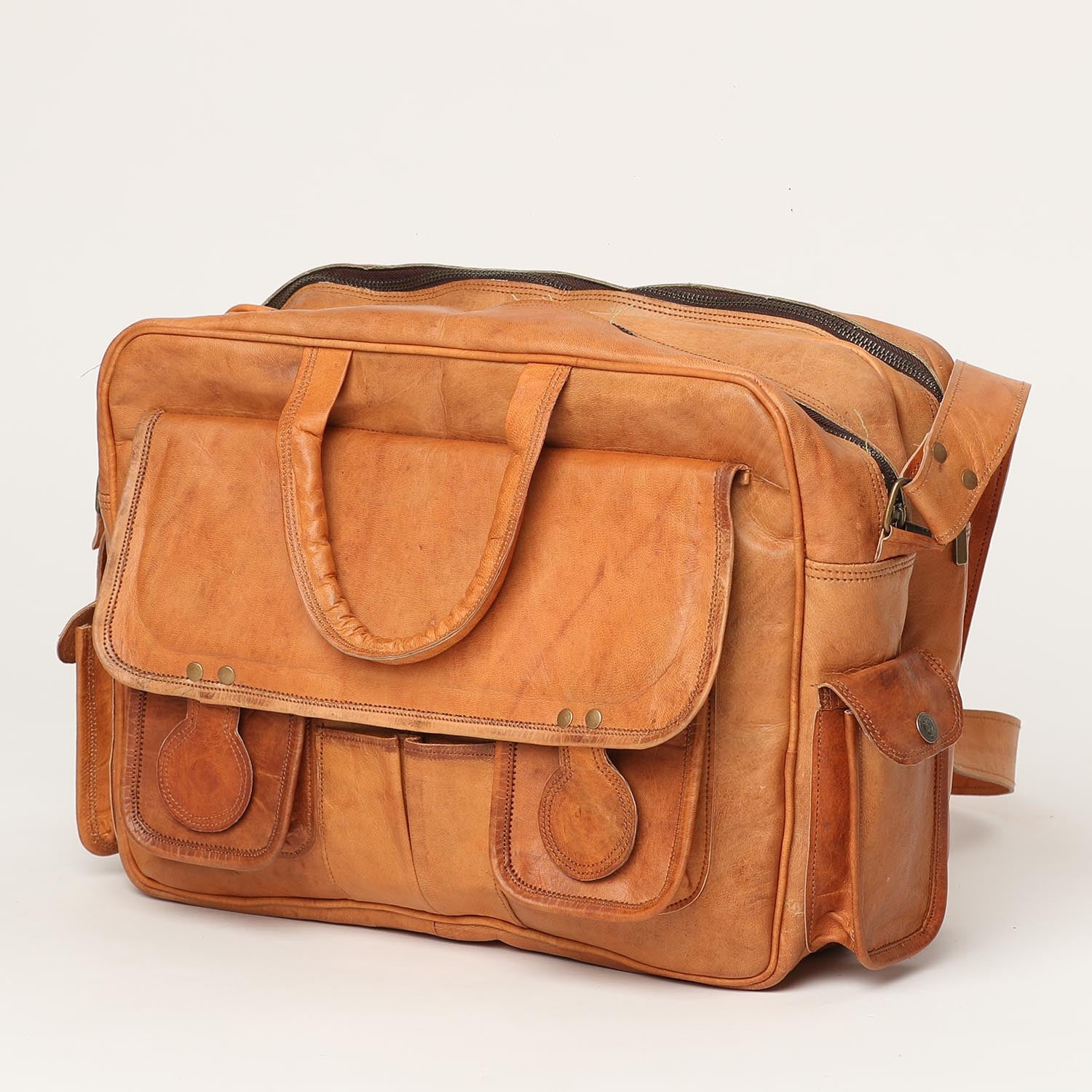 Classic Office Bag - leather bags