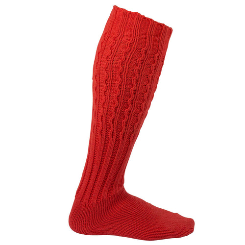 Amundsen Traditional Socks Weathered Red Small Unisex - futureproof-life