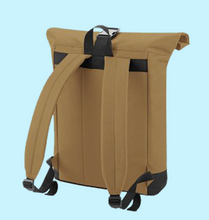 ROLL-TOP BACKPACK (CARAMEL)