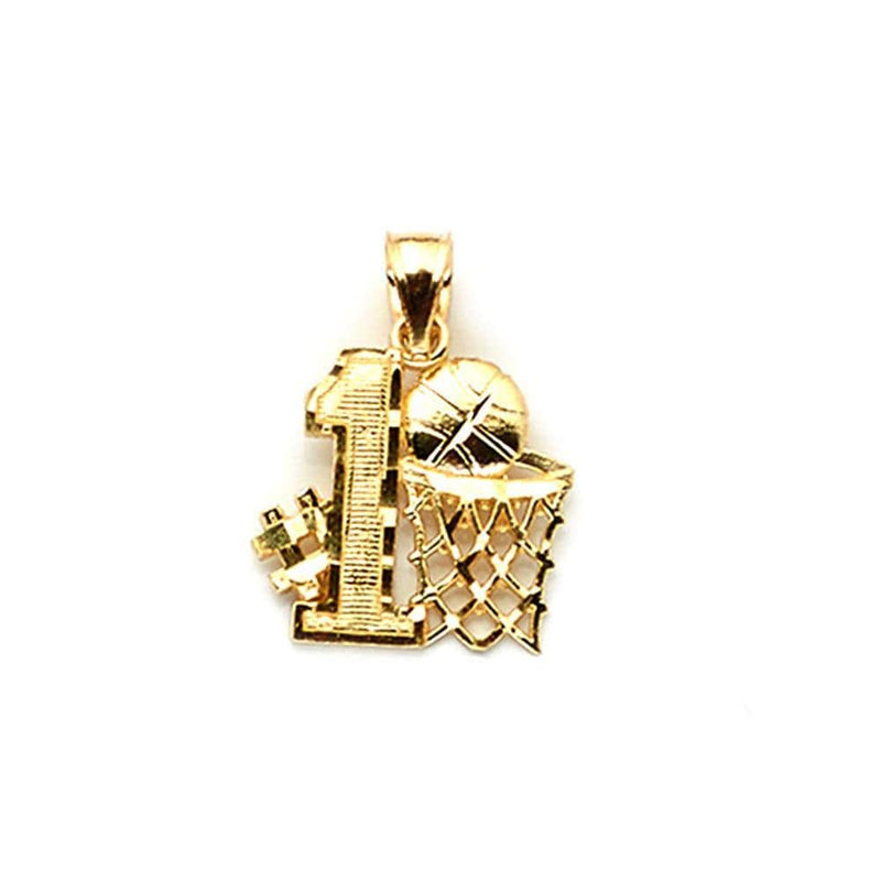 10K Yellow Gold 1.50 Grams Fashion Pendant - Jawa Jewelers