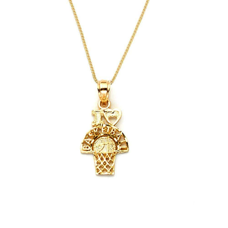 10K Yellow Gold 0.80 Grams Fashion Pendant - Jawa Jewelers