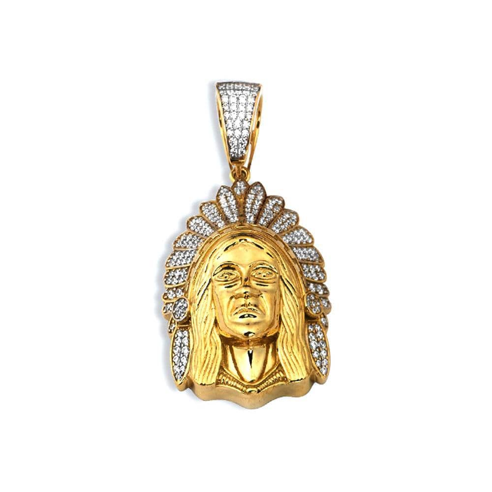 10K Yellow Gold 30.40 Grams Fashion Pendent - Jawa Jewelers
