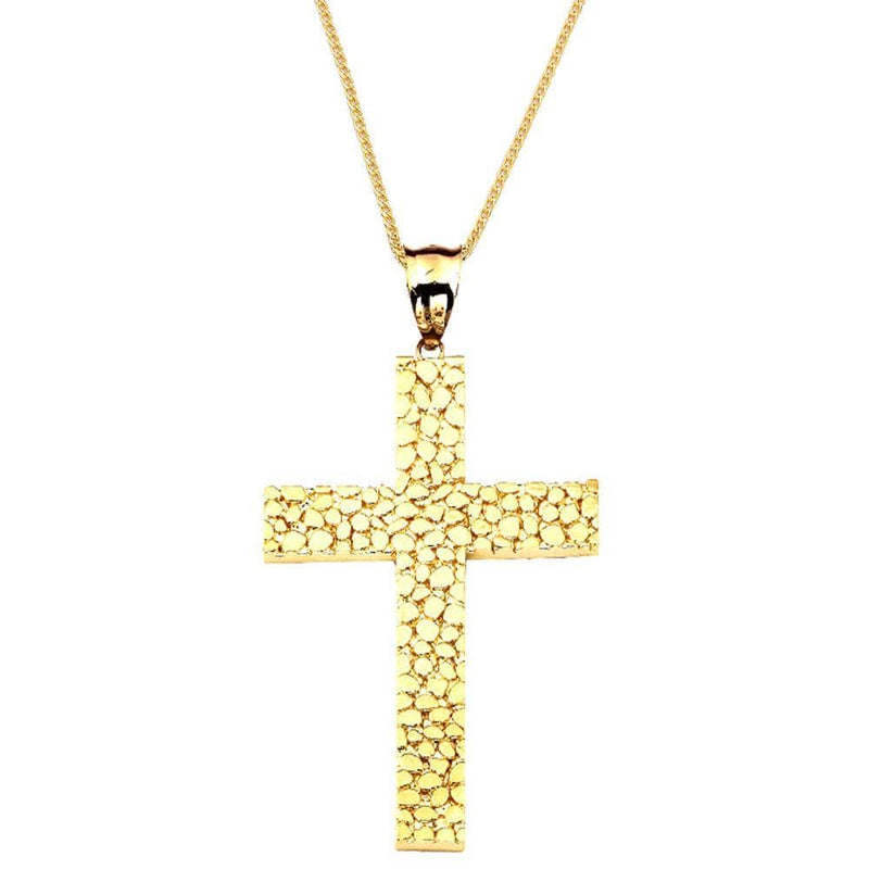 10K Yellow Gold 10.00 Grams Cross Fashion Pendent - Jawa Jewelers