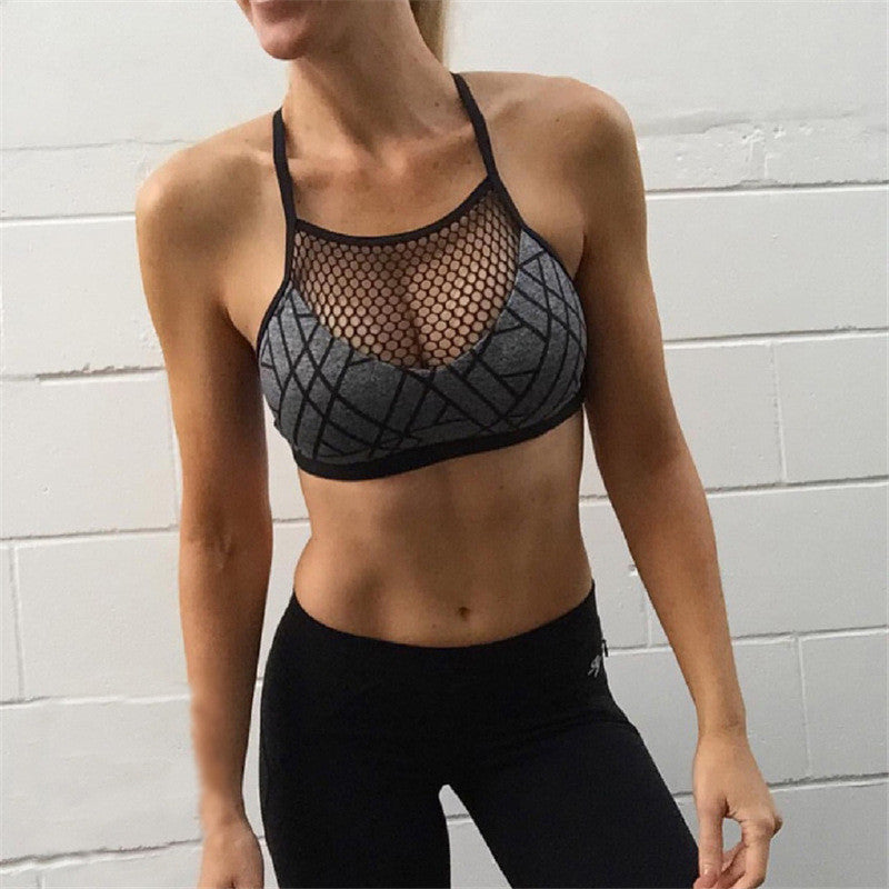 Mesh Womens Knit Crop Top