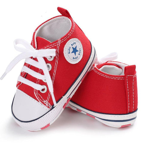 Round Toe Cute Baby Sneaker Sports Shoes for Infant to 18 Months - Hautify