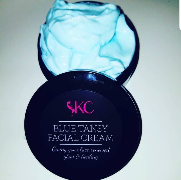 2 oz. Blue Tansy Facial Cream - Kreamie's Collection