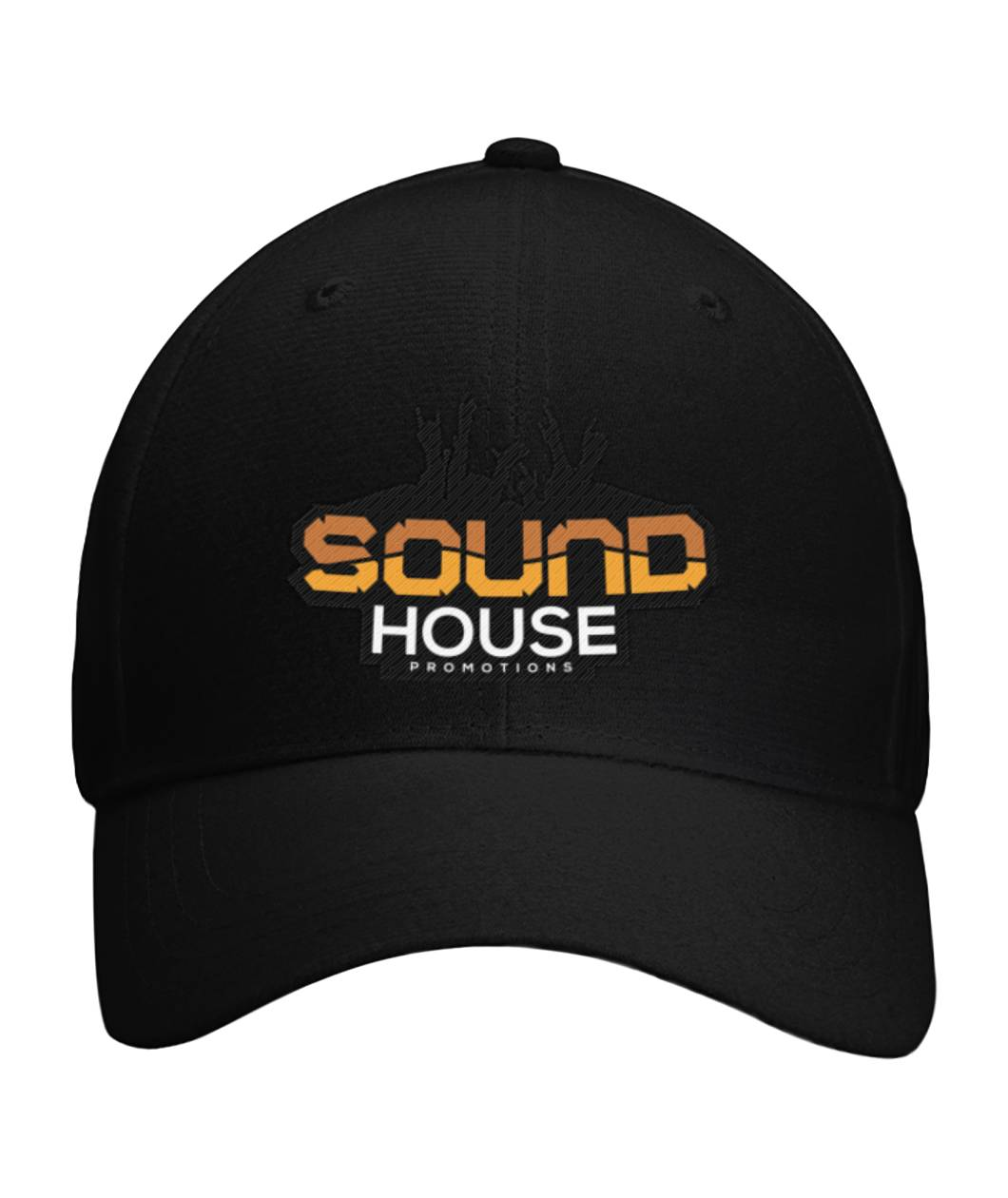 Soundhouse Sports Cap Curved Bill Velcro Strap