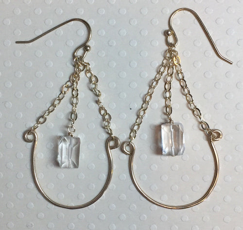 Devine Crystal Earrings