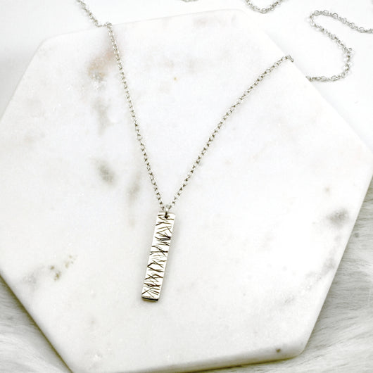 Rays of Light Bar Necklace