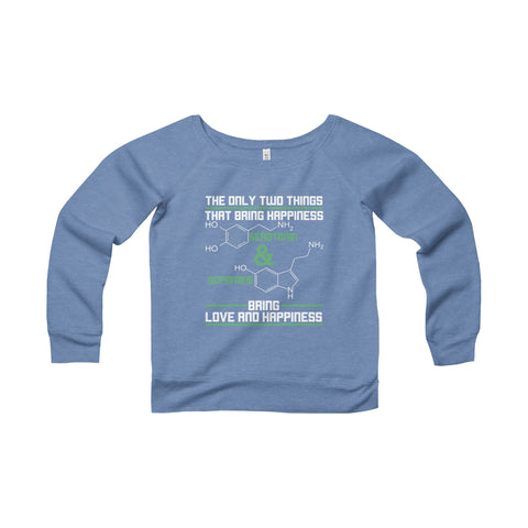 Science Women Wide Neck Sweatshirt