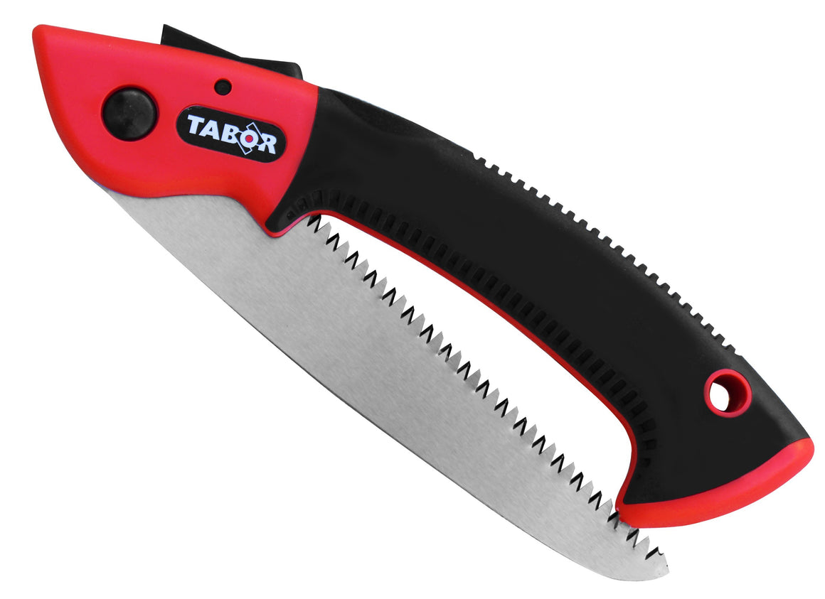 TABOR TOOLS Folding Saw with Straight Blade
