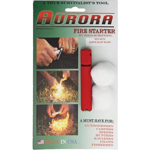 Aurora Fire Starter Super Alloy Red