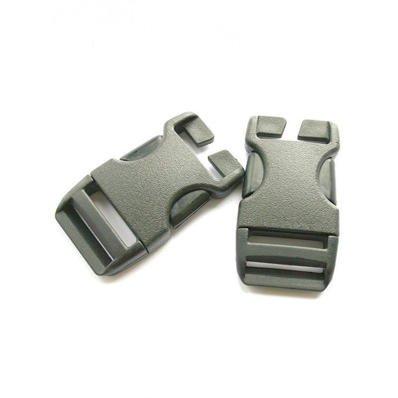 25mm QA Side Squeeze Buckle (x2)