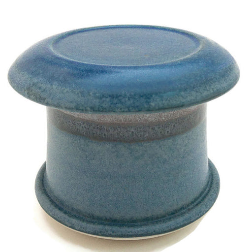 French Butter Dish - Two Tone - Silky Blue