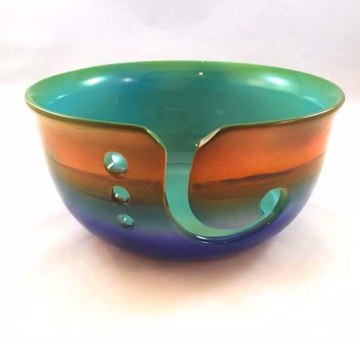 Knitting Bowl - Large - Sunset