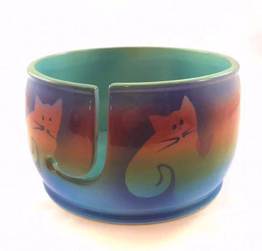 Knitting Bowl - Medium - Cat