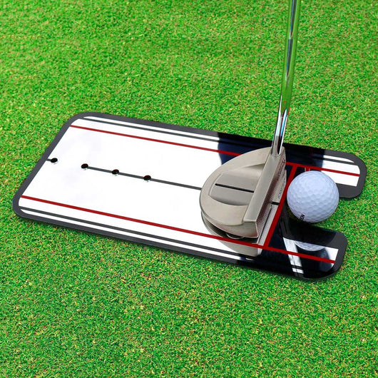 Golf Putting Alignment MirrorTraining Aid.  Swing Trainer Eye Line Golf Practice Putting Mirror Large Golf Accessories