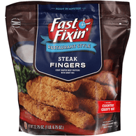 Fast Fixin' Restaurant Style Steak Fingers 22.75 oz. Bag