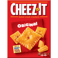 Cheez-It Original Baked Snack Crackers Box