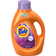 Tide Plus Febreze Freshness Detergent, HE Turbo Clean, Spring & Renewal
