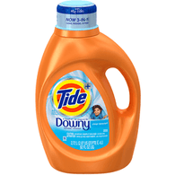 Tide Detergent, A Touch of Downy, Clean Breeze