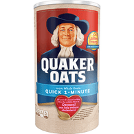 Quaker Oats Quick 1 - Minute Oats