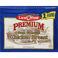 Land O' Frost Premium Oven Roasted Chicken Breast Zip Pak