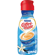 Nestle Coffee-Mate Fat Free French Vanilla Flavor Coffee Creamer