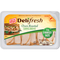 Oscar Mayer Deli Fresh Turkey Breast, Oven Roasted, Family Size
