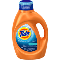 Tide Coldwater Clean Fresh Scent Liquid Laundry Detergent 92 oz Bottle