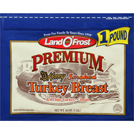 Land O' Frost Premium Honey Smoked Turkey Breast Zip Pak