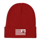 RESURGENCE Flag Kettlebell Flag Knit Beanie (4 colors available)