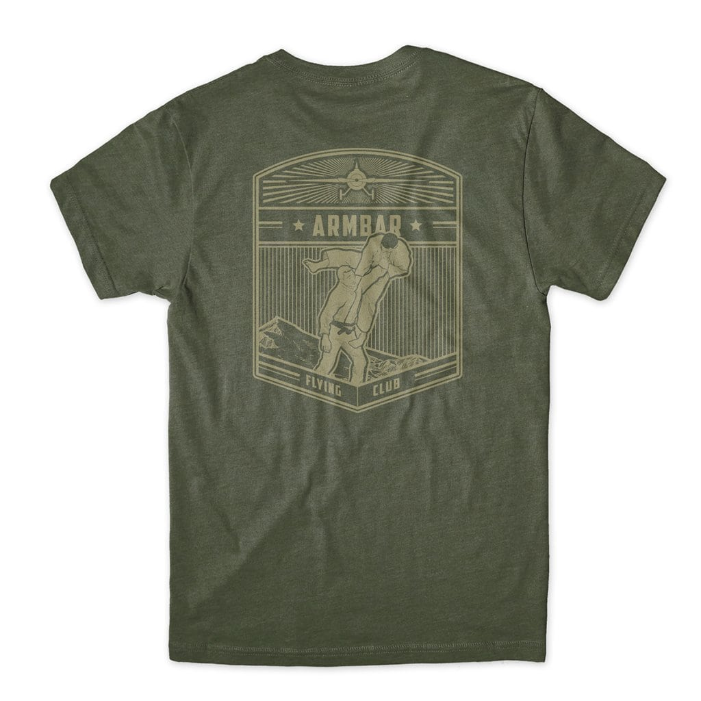 Armbar Flying Club - Military Green