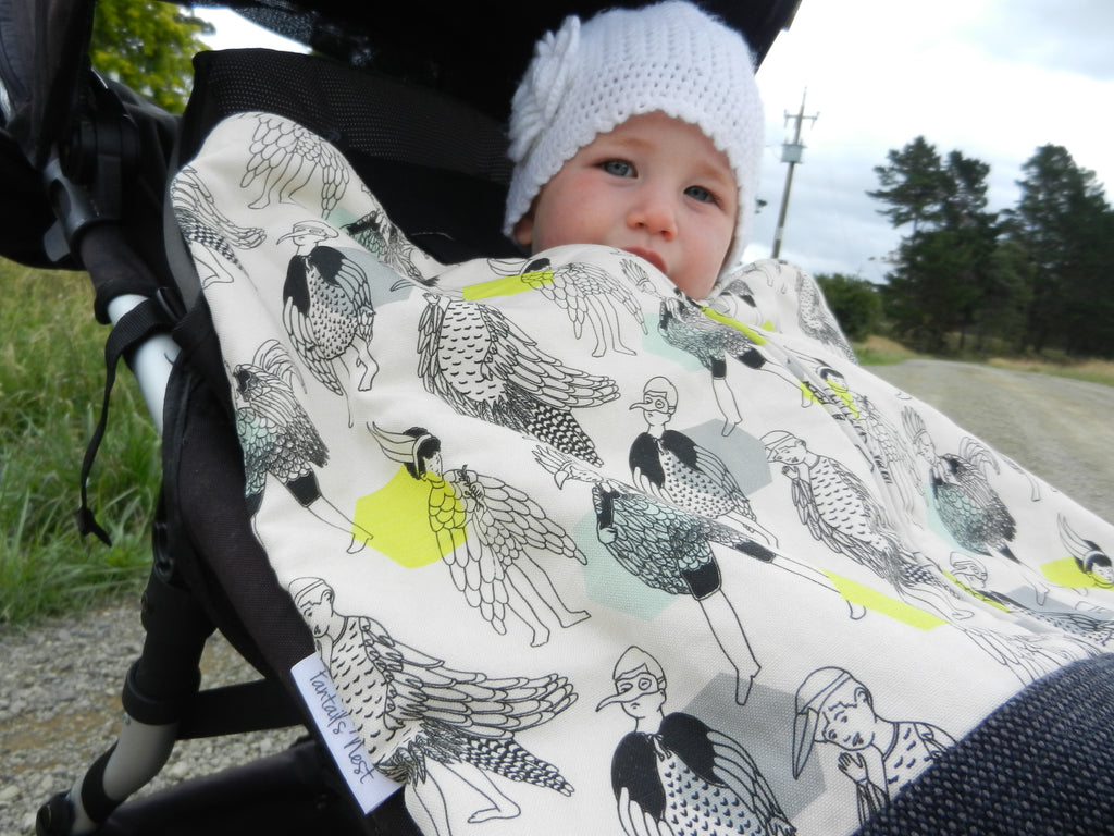 Perfect for Mum & Bub on those chilly morning walks!