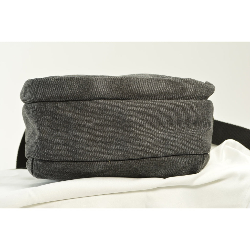 Camille Conceals Black Canvas Concealed Carry Bag - Padded Tablet Compartment and More!