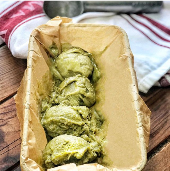 Dairy Free Matcha Tea & Yacon Ice Cream Recipe