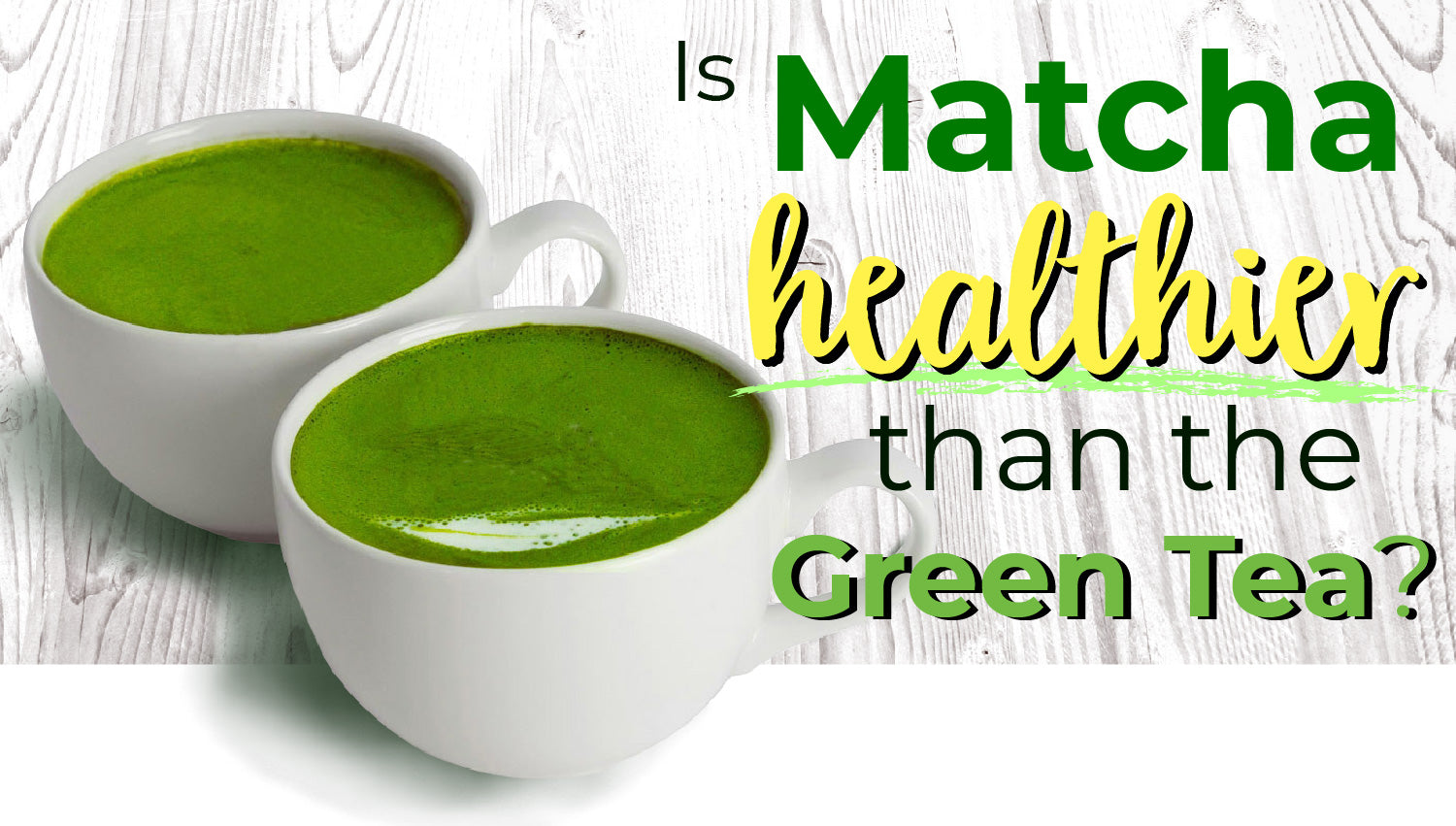 Is Matcha Healthier Than Green Tea? | Blog | Alovitox Organic Superfoods