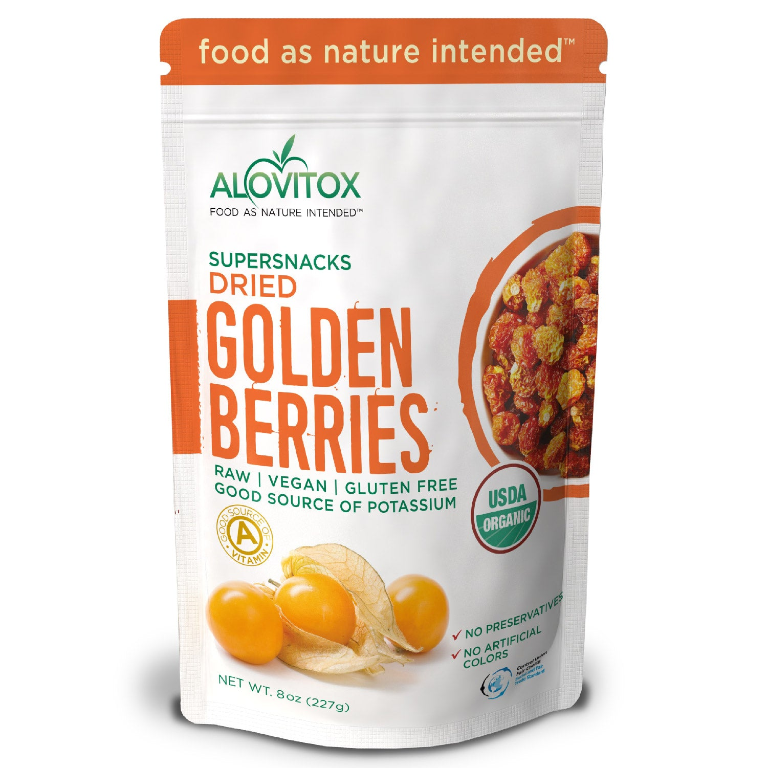 Organic Golden Inca Berries