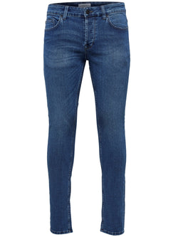Only & Sons Warp Slim Fit Blue Denim Jeans