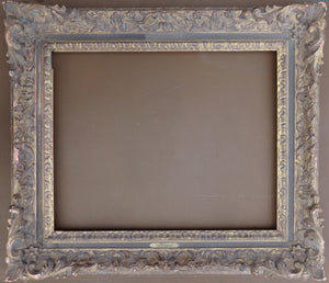 A beautifully wood carved Louis XV style frame - appleboutique-com