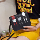 Cartoon Shoulder Bags bag - Grr Cats