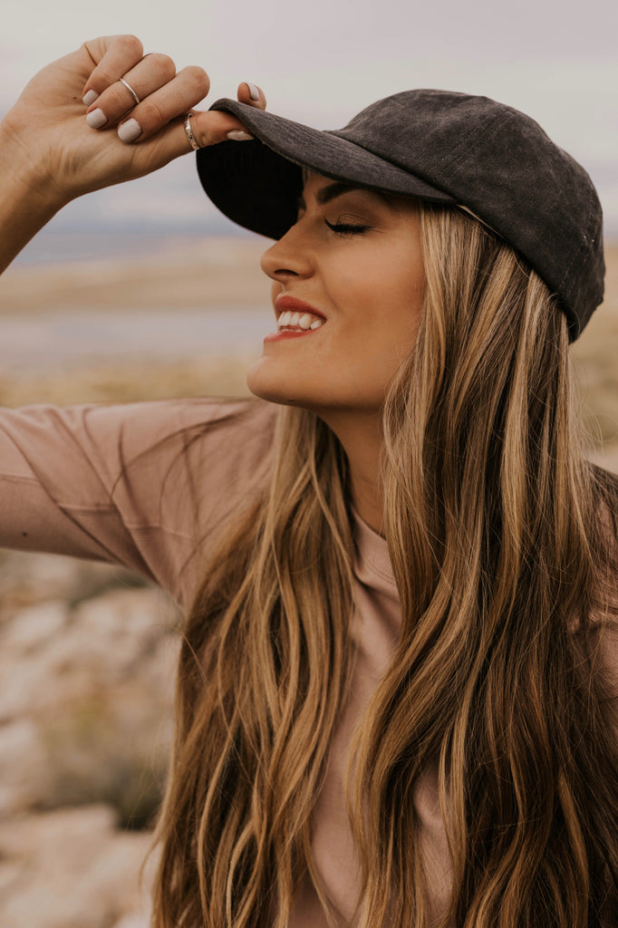 Charcoal Ballcaps for Women | ROOLEE